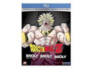 Dragon Ball Z: Broly Triple Feature BLU-RAY 9SIA3G61AM1171