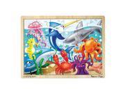 Melissa & Doug Jigsaw Puzzle - Under the Sea