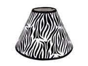 Trend Lab Lamp Shade Black White Zebra 107925