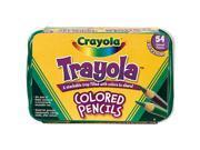 Crayola Trayola 54-Pack Colored Pencils
