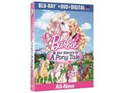 Barbie & Her Sisters in a Pony Tale Blu-Ray Combo Pack Blu-Ray/DVD/Digital 9SIAA763US4815