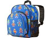 Wildkin Pack 'n Snack Backpack - Olive Kids Robots 9SIA3912D55091