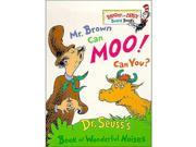 Dr. Seuss Mr. Brown Can Moo! Can You Board Book