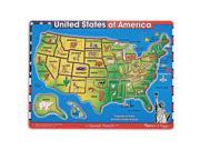 Melissa & Doug USA Map Sound Puzzle