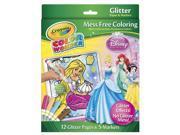 Crayola Color Wonder Glitter Coloring Set - Disney Princess