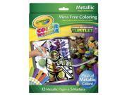 Crayola Color Wonder Metallic Coloring Set - Teenage Mutant Ninja Turtles