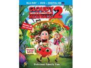 Cloudy With A Chance of Meatballs 2 Blu-Ray Combo Pack Blu-Ray/DVD/Ultraviolet