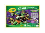 Crayola Giant Coloring Pages - Teenage Mutant Ninja Turtles 9SIV16A66V7893