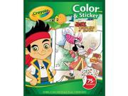 Crayola Color & Sticker Book Jake and Never Land Pirates