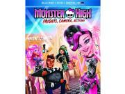 Monster High: Frights, Camera, Action! Blu-Ray 9SIAA763US4899