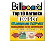 Billboard Top-40 Karaoke - Box Set Vol. 1 CD