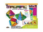 Magrific 3D Magnetic Tiles Building Set - 14 Piece
