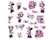 Mickey & Friends - Minnie Fashionista Peel and Stick Wall Decals