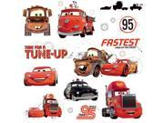 Cars - Friends to the Finish Peel and Stick Wall Decals