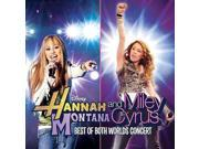 Disney Hannah Montana & Miley Cyrus: Best of Both Worlds Concert CD with DVD