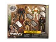 True Heroes 4 Pack Soldier Action Figure Se - Steel, Condor, Extreme & Patch 9SIA3G62T50298