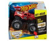 Hot Wheels Monster Jam Rev Tredz Captains Curse Truck