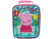 Peppa Pig 9.5 inch Rectangle Lunch Bag 9SIV16A66V1814
