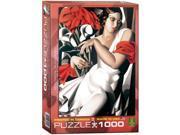 Portrait of Ira Tamara De Lempicka 1000 Piece Puzzle by Eurographics 9SIA7WR2UC8154