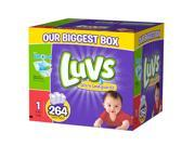 Luvs Size 1 Ultra Leakguards Diaper - 264 Count