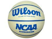 Wilson NCAA 28.5 Illuminator Glow in the Dark Basketball