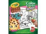 Crayola Shopkins Color 'N Sticker Book