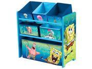 Delta Children SpongeBob Multi-Bin Toy Organizer