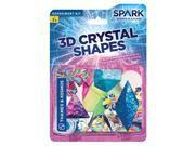 Thames and Kosmos 3D Crystal Shapes THK551011 Thames & Kosmos 9SIA9PK4M58110