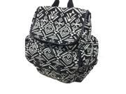 Carters Baby Aztec Jacquard Backpack Diaper Bag - Black