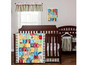 Trend Lab Dr. Seuss Alphabet Seuss 3-Piece Crib Bedding Set