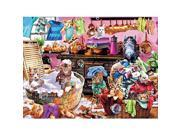 Ceaco Kittens in the Kitchen Jigsaw Puzzle - 550 Piece