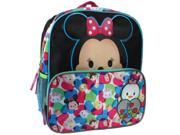 "Disney ""I Love Tsum Tsum"" 14 inch Backpack with Side Mesh Pockets"