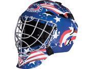Franklin Sports GFM 1500 NHL Blue Jackets Goalie Face Mask