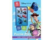 Disney Pixar Puzzle Pals Activity Book with 3D Stickers