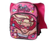 Mattel Barbie Super Sparkle 16 inch Backpack with Side Mesh Pockets