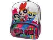 """Cartoon Network Power Puff Girls Bubbles, Buttercup & Blossom """"Girls Rock """" 16"""