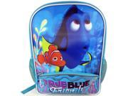 "Disney  Finding Dory Nemo & Dory ""True Blue Friends"" Backpack with Two Side Me"