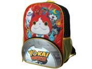 Yo-Kai Watch Jibanyan Power 16 inch Backpack with Side Mesh Pockets
