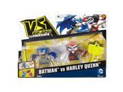 VS Rip-Spin Warrior Figure DC Comics Batman 2 & Harley Quinn Figure (2 Pack) 9SIAEUT6CV9651