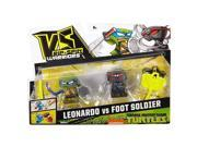 VS Rip-Spin Warriors Teenage Mutant Ninja Turtles 2 Pack - Leonardo vs Foot Soldier 9SIAEUT6CV9469