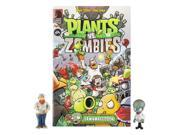 Plants vs Zombies 3 inch Figure Comic Book - Crazy Dave and Zomboss 9SIA3G636U5167