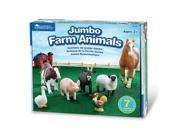Learning Resources Jumbo Farm Animals 9SIA3G61B55920