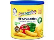 Gerber Graduates Lil Crunchies Veggie Dip Snacks 1.48 Ounce