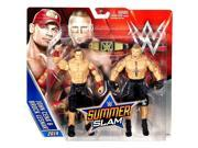 "WWE Summerslam Superstar  2 Pack 6""""Action Figure - John Cena & Brock Lesnar"" 9SIAD185N40524"