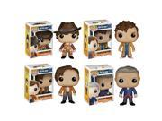 Funko Doctor Who Pop TV Vinyl Collectors Set with Fourth Doctor Tenth Doctor Eleventh Doctor Twelfth Doctor 9SIA3G64YB0238