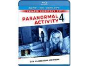 Paranormal Activity 4 Blu Ray/ DVD with Digital Copy 9SIA17P37T3373
