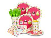Cupcake Birthday Standard Party Kit Serves 8 9SIA3G653Z5820