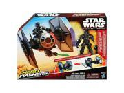 Star Wars: Episode VII The Force Awakens Hero Mashers TIE Fighter & TIE 9SIAD185KM9567