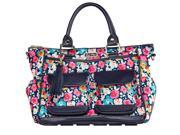 Itzy Ritzy Triple Threat Convertible Diaper Bag - Posy Pop