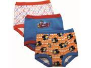 Mickey Mouse 3 Pack Assorted Pattern Underwear - Toddler 2T Multi-Color 9SIA3G664H9222